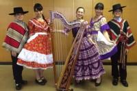 中南米 チリのイベントでアルパ奏者(ラテンハープ奏者)として出演!