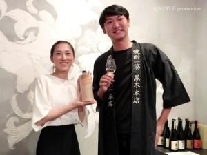 焼酎スタイリストyukiko × 株式会社黒木本店 黒木氏