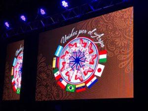 アルパ奏者マルティン・ポルティージョ主催イベント、南米パラグアイで開催された「アルパ国際フェスティバル」に日本代表の一員として色彩総合プロデュース「スタイル プロモーション」代表yukikoが参加・演奏(C)STYLE promotion